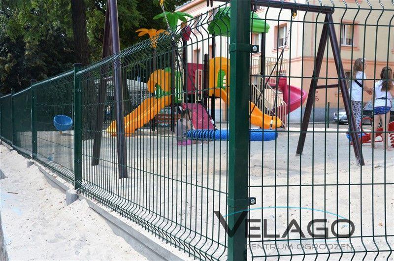 Panele ogrodzeniowe 3D RAL 6005 zdjęcie nr 4