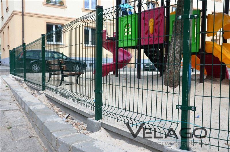 Panele ogrodzeniowe 3D RAL 6005 zdjęcie nr 2