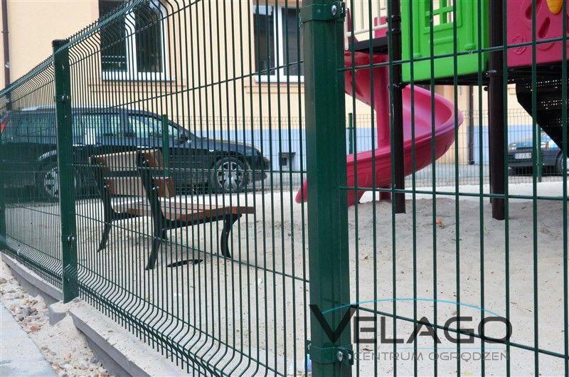 Panele ogrodzeniowe 3D RAL 6005 zdjęcie nr 1