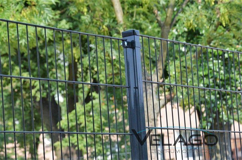 Ogrodzenie panelowe 2D RAL 7016 zdjęcie nr 4